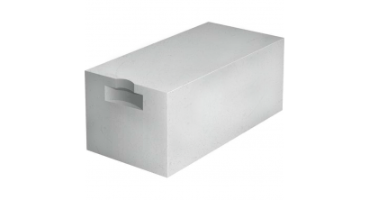 Газобетон СК блок ГБ прямой с захватом D500 (B 2,5), 600*250*200, фото номер 1