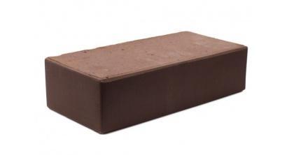 Кирпич керамический облицовочный полнотелый КС-керамик Темный шоколад гладкий 250*120*65 мм, фото номер 1