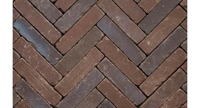Клинкерная тротуарная брусчатка ручной формовки Penter Doris onbezand tumbled, 200х50х65 мм, фото номер 1