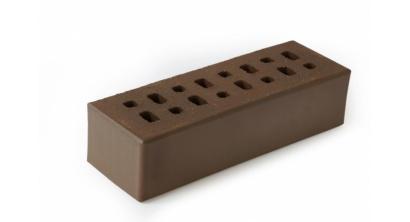 Кирпич клинкерный облицовочный пустотелый ЛСР Мюнхен коричневый гладкий 250*85*65 мм, фото номер 1
