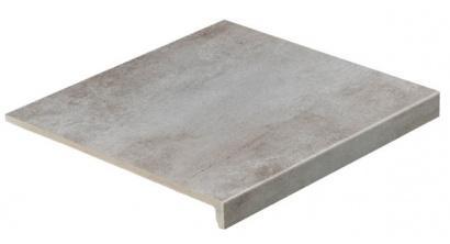 Клинкерная ступень прямоугольная рядовая Loftstufe Stroeher Keraplatte Aera T 705 beton, 294х340х35х11 мм, фото номер 1