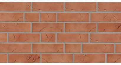 Фасадная плитка клинкерная ABC Antik Kupfer рельефная NF8, 240*71*8 мм, фото номер 1