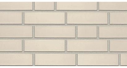 Фасадная плитка клинкерная Roben Oslo Perlweiss гладкая NF9, 240*9*71 мм, фото номер 1