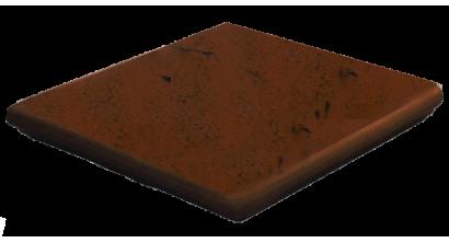 Клинкерная угловая ступень флорентинер ABC Antik Mangan, 335*335*10 мм, фото номер 1