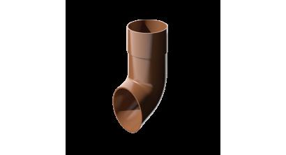 Слив трубы ТехноНИКОЛЬ (Verat) коричневый, D 82 мм, фото номер 1