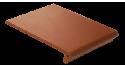 Клинкерная ступень-флорентинер ABC Quaranit Borkum, 345*240*14 мм, фото номер 1