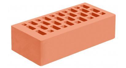 Кирпич керамический облицовочный пустотелый Голицынский КЗ Абрикосовый гладкий 250*120*65 мм, фото номер 1