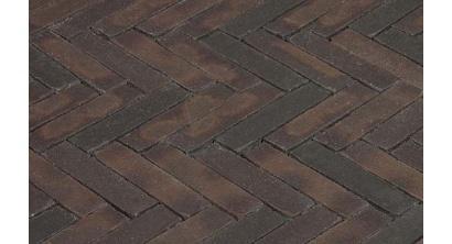 Клинкерная тротуарная брусчатка ручной формовки Penter Incana wasserstrich, 200х50х85 мм, фото номер 1