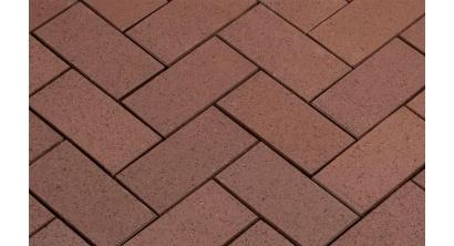 Брусчатка тротуарная клинкерная Penter Baltic Braun, 200x100x45 мм, фото номер 1