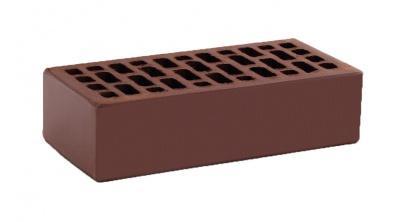 Кирпич керамический облицовочный пустотелый КС-керамик Темный шоколад гладкий 250*120*65 мм, фото номер 1