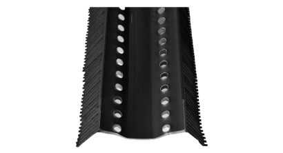 Аэроэлемент конька BRAAS AFE черный, 1000 мм, фото номер 1