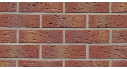Фасадная плитка клинкерная Feldhaus Klinker R332 Carmesi multi mana рельефная NF9, 240*9*71 мм, фото номер 1