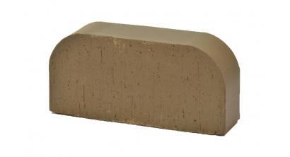 Кирпич керамический облицовочный радиусный полнотелый Lode Brunis F14 гладкий 250*120*65 мм, фото номер 1