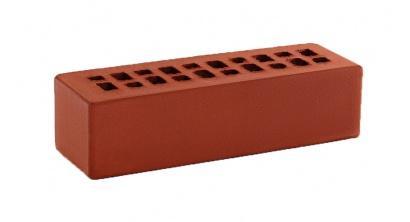 Кирпич керамический облицовочный пустотелый КС-керамик Красный гладкий 250*85*65 мм, фото номер 1