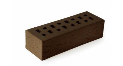Кирпич клинкерный облицовочный пустотелый ЛСР Мюнхен коричневый береста 250*85*65 мм, фото номер 1