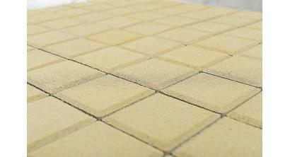Тротуарная плитка BRAER Лувр песочный, 100*100*60 мм, фото номер 1