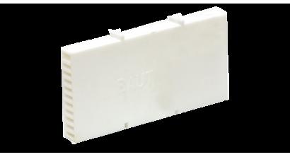 Вентиляционно-осушающая коробочка BAUT 115*60*10 мм, белая, фото номер 1