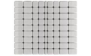Тротуарная плитка BRAER Классико серебристый, 115*60 мм, фото номер 1