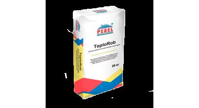 Цементно-известковая штукатурка PEREL TeploRob 0518, 20 кг, фото номер 1