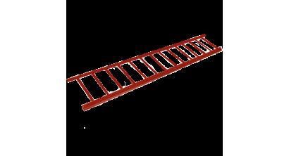 Снегозадерживающая решетка BRAAS 200*2500 мм, красный, фото номер 1