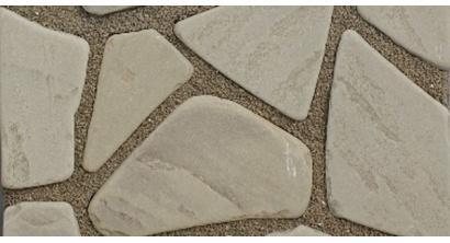 Песчаник серо-бурый галтованный, 50-60 мм, фото номер 1