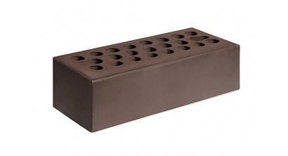 Кирпич керамический облицовочный пустотелый Керма Шоколад гладкий 250*85*65 мм, фото номер 1