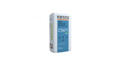 Клей для керамической плитки и укладки керамогранита на пол Perfekta СТАРТФИКС, 25 кг, фото номер 1