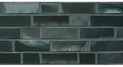Кирпич клинкерный облицовочный пустотелый ABC 8954 Hamburg schwarz-blau-bunt-geflammt Kohlerbrand гладкий 240*115*71 мм, фото номер 1