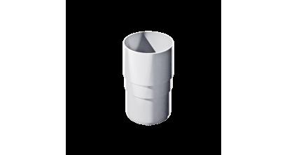 Муфта трубы ТехноНИКОЛЬ (Verat) белый, D 82 мм, фото номер 1