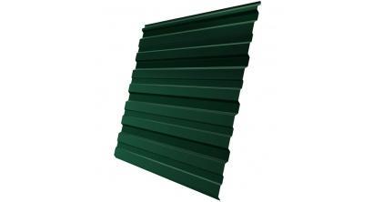 Профнастил фигурный Гранд Лайн (Grand Line) GL-10R 0,35, PE RAL 6005 зеленый мох, фото номер 1