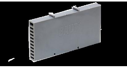 Вентиляционно-осушающая коробочка BAUT 115*60*10 мм, темно-серая, фото номер 1