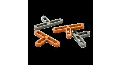 Крестики Т-образные 10 мм. для клинкерной плитки 500 шт./уп., фото номер 1