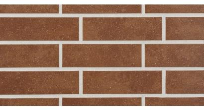 Фасадная плитка клинкерная Stroher Keravette Shine 841 rosso рельефная NF8, 240*71*8 мм, фото номер 1