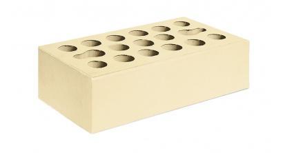 Кирпич керамический облицовочный пустотелый Керма Пшеничное лето гладкий 250*120*65 мм, фото номер 1