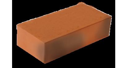 Кирпич керамический облицовочный полнотелый ЛСР красный флэш гладкий M250-500, 250*120*65 мм, фото номер 1