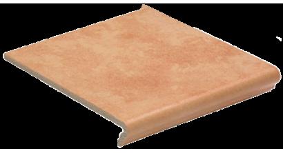 Клинкерная ступень флорентинер Euramic Cavar E542 passione, 340x294x11 мм, фото номер 1