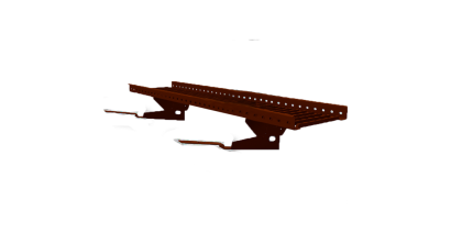 Переходной мостик BORGE RAL 8017 для композитной черепицы, коричневый, 3 м, фото номер 1