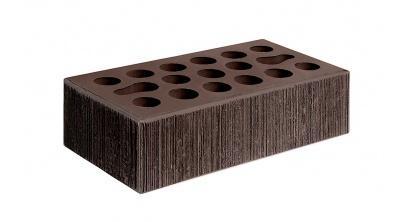 Кирпич керамический облицовочный пустотелый Керма Шоколад бархат 250*120*65 мм, фото номер 1