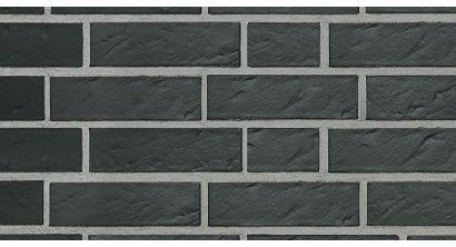 Кирпич клинкерный облицовочный пустотелый Roben Faro schwarz-nuanciert риф 240*115*71 мм, фото номер 1