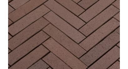 Брусчатка тротуарная клинкерная Penter Baltic Braun, 250x60x52 мм, фото номер 1