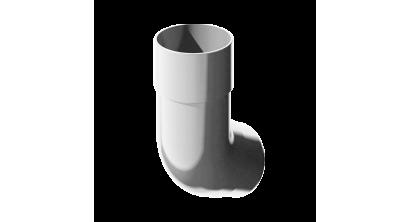 Колено трубы ТехноНИКОЛЬ (Verat) белый 135 град., D 82 мм, фото номер 1