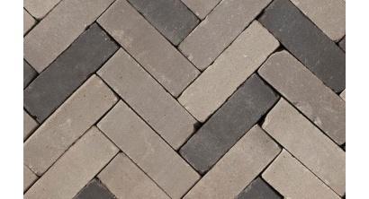 Клинкерная тротуарная брусчатка ручной формовки Penter Metis mix tumbled, 200х65х65 мм, фото номер 1