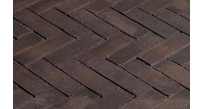 Клинкерная тротуарная брусчатка ручной формовки Penter Nostalgie wasserstrich, 200х65х85 мм, фото номер 1