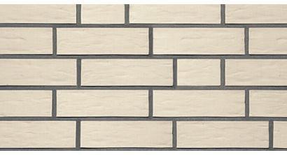 Фасадная плитка клинкерная Roben Oslo Perlweiss рельефная NF14, 240*14*71 мм, фото номер 1