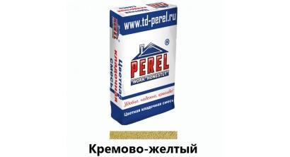 Цветной кладочный раствор PEREL SL 0030 кремово-желтый, 50 кг, фото номер 1