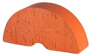 Кирпич керамический облицовочный фигурный полнотелый (радиальный) Lode Janka гладкий 250*121*65 мм, фото номер 1