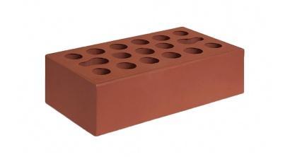 Кирпич керамический облицовочный пустотелый Керма Бордо гладкий 250*120*65 мм, фото номер 1