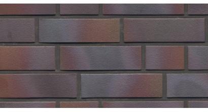 Фасадная плитка клинкерная Feldhaus Klinker R386 Cerasi maritim negro гладкая NF14, 240*14*71 мм, фото номер 1