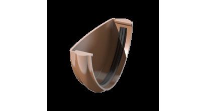 Заглушка желоба ТехноНИКОЛЬ (Verat) коричневый, D 125 мм, фото номер 1