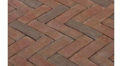 Клинкерная тротуарная брусчатка ручной формовки Penter Ravenna 200х65х85 мм, фото номер 1